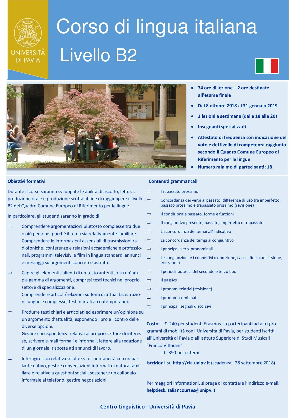 Learn Italian At The Language Centre